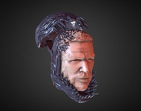 3D print model TOM HARDY VENOM INSPIRITED FIGURE HEAD v2