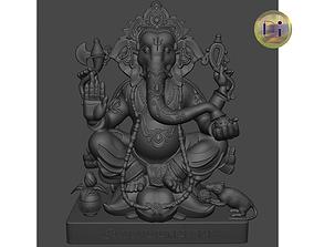 Ganesha 3D print model art