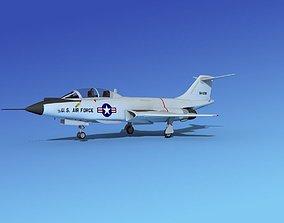 McDonnell F-101B Voodoo V09 3D model