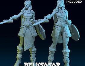 Challenger Viking Normal and Nude 3D print model