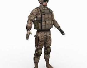 3D US Army Delta Force