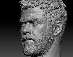 Thor head 3D print model people
