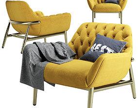 3D model Jade Luxury Armchair