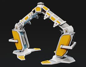 3D asset SciFi RTS Structure - Teleportal