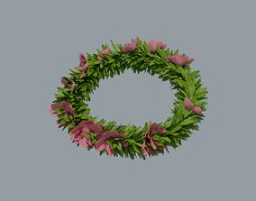 Laurel Wreath Cherry Tree 3D model