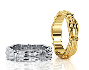 3D printable model Ring Band R BA 0044