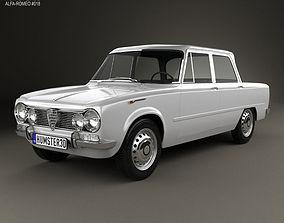 3D Alfa Romeo Giulia 105 1962