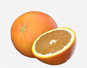realtime Orange Fruit 3D model Photoscan