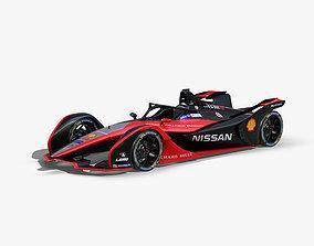 3D asset Nissan Formula E 2020