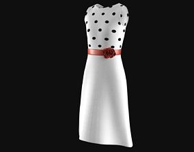 3D 1950s Dress dress