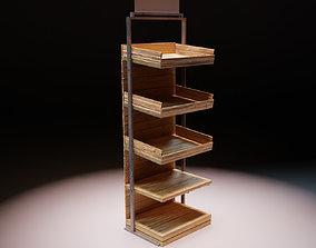 The Display Rack 3D model