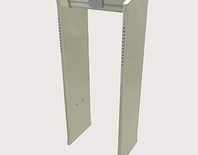 Metal Detector 3D asset