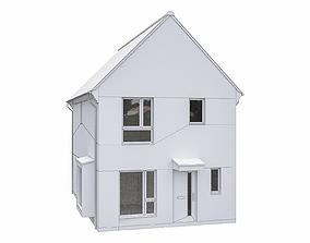 3D asset Neighborhood Houses P20
