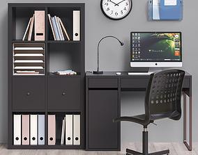 Workplace set 3 3D