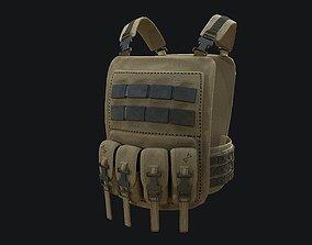 Tactical Vest PBR 3D asset