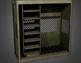 3D model MLT - Military Barracks Gun Rack 01 - PBR Game