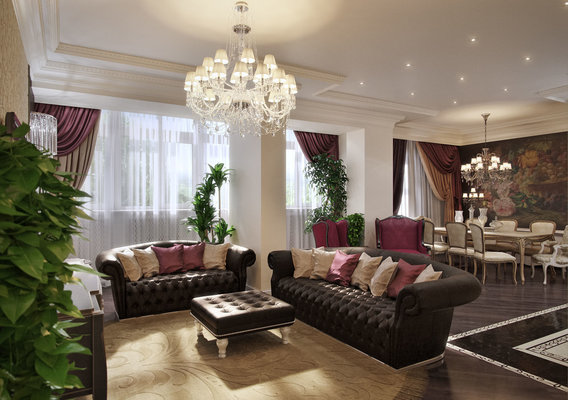Apartment in Rostov-on-Don. The central zone.