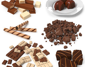 Chocolate Collection 3D model