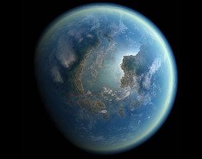 3D Planet model