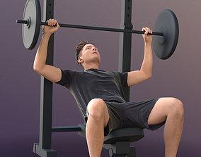 Dan 10486 - Fitness Man 3D asset