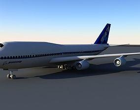 Boeing 747 3D