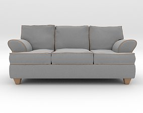 couch 3D asset realtime furniture