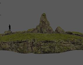 forest rocks 3D model VR / AR ready