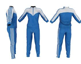3D model Mens Sportswear