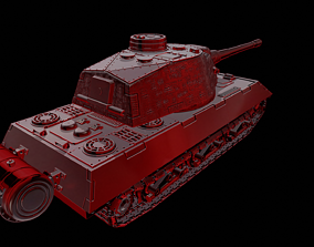 vk 100 p Tanks Mammut 3D print model
