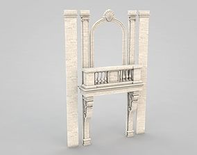 3D model Architectural Element 070