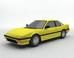 3D 1988 Honda Prelude Sedan