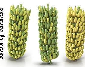 Bunch of bananas 3D