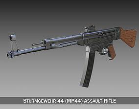 3D Sturmgewehr 44 - MP44 - German Assault Rifle