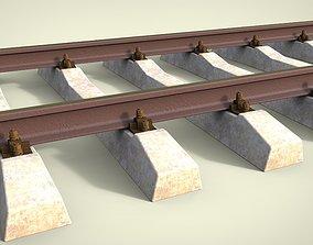 3D model locomotives Railway