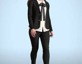 Nelly 20213-02 - Animated Walking Woman 3D model