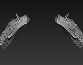 Samurai Shoulder Armor 3D model