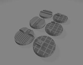Underworld bases 25 mm set 1 3D printable model