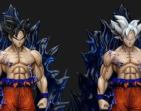 Goku Ultra Instinto - Dragon Ball 3D print model