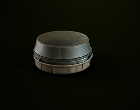 3D model Antipersonnel landmine PMN-4