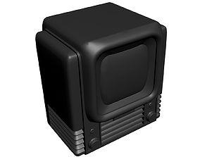 3D print model Retro TV