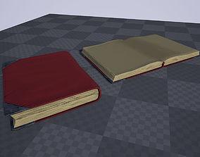 3D model Semi-stylized basic book