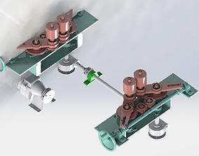 Gear positioning model