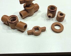 Plug Valve low pressure for garden 3D printable model