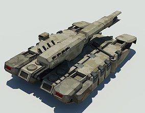 3D model Sci fi Tank