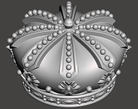 Royal Crown - 3d model for CNC -