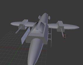 Spaceship A-1v2 3D