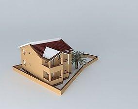 3D model House Mediterranean Design
