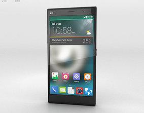 ZTE Grand Memo II LTE Black 3D model