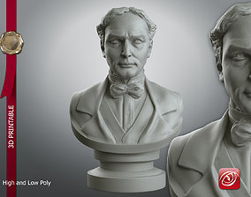 Houdini Bust 3D Printable