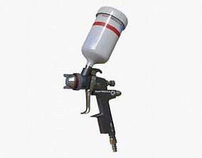 Spray Gun 3D asset